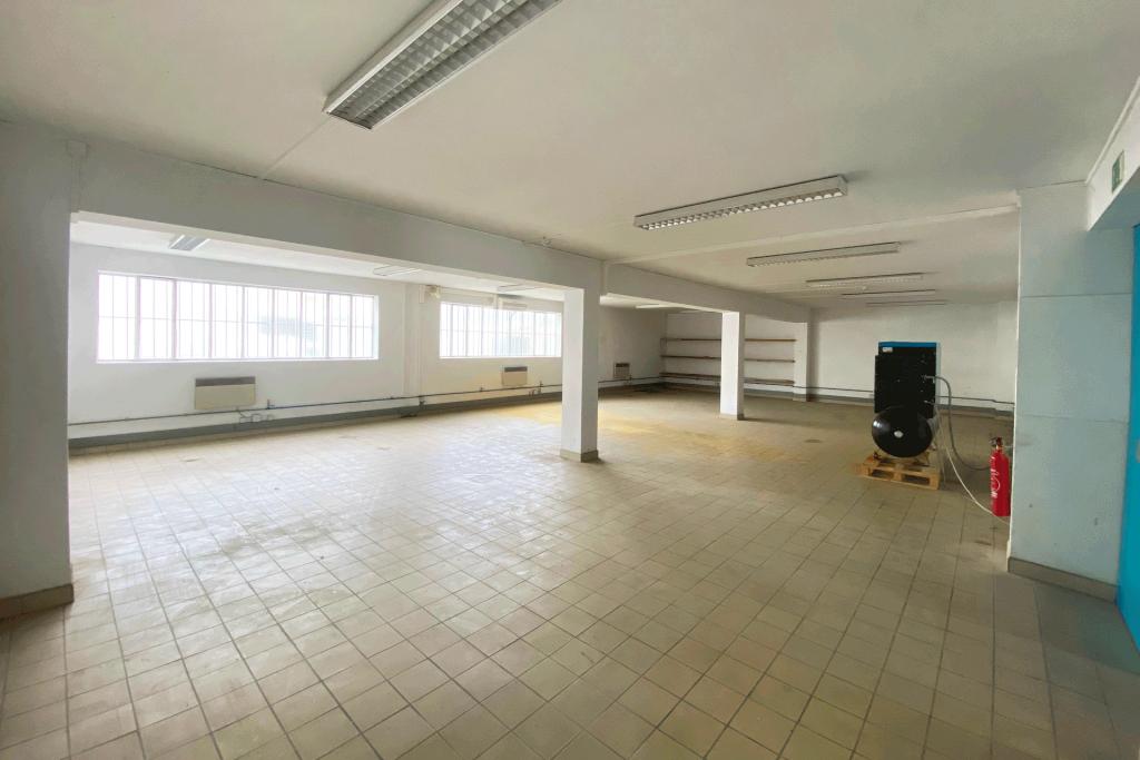 Atelier de 133.2 m² (rez-de-chaussée)