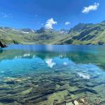 Lac bleu de l'Esponne