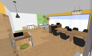 Plan coworking Ambition